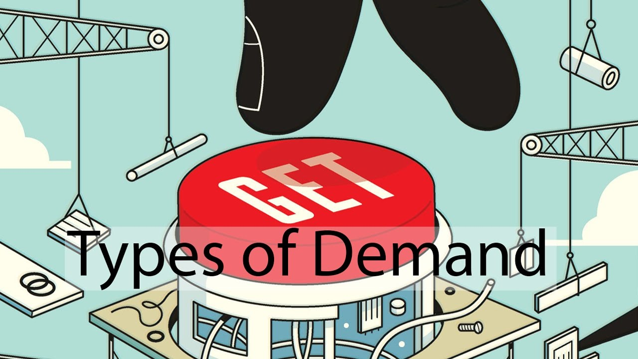 Demand and it's kind and determinants